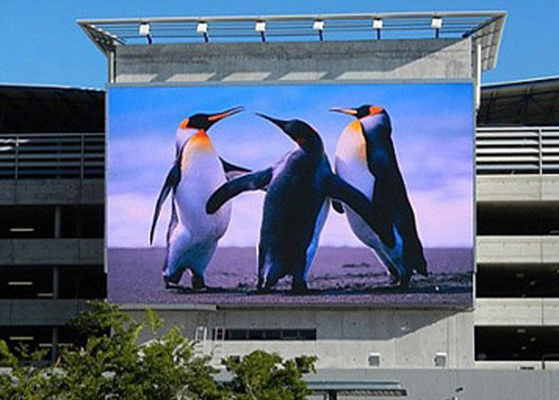 Excellent Reliability Large Led Display Panels , P6 Led Wall Screen Display Outdoor