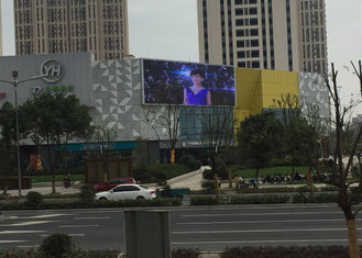 Fixed Installation P10 SMD LED Screen , Full Color LED Display SMD3535 LED Package