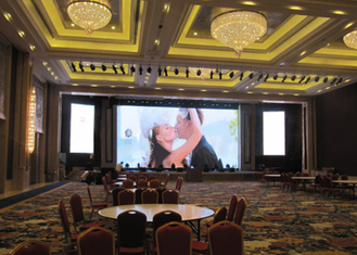 Indoor Large Led Display Panels , Bright Led Display 1/8 Scan Drive Duty